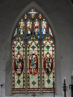 Stockton window after restoration