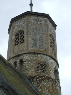 Beachamwell detail of tower