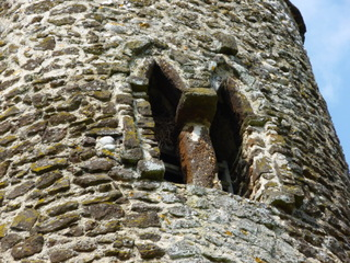 Bressingham: carstone in tower