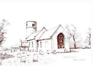 St Margaret's Herringfleet by TD Mee