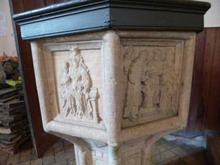 Gayton Thorpe Seven sacraments font
