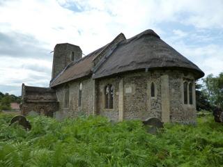 Heckingham apse