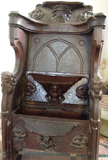 Misericord seat, East Lexham