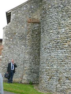 Tasburgh flint quoins