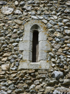 Welborne window in tower