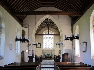 West Dereham interior