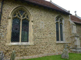 Hasketon window in situ
