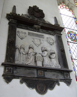 Norwich St Mary C Kurnbeck monument