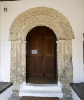 Ormesby St Margaret door