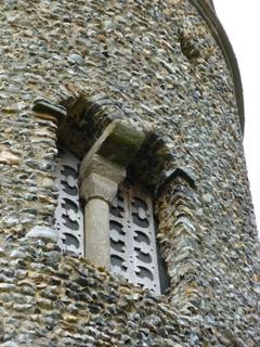 Forncett St Peter belfry opening