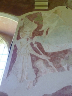 West Somerton wall painting