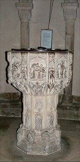 St Mary in the Marsh font