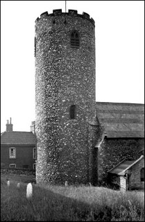 Norwich St Julian tower by Plunkett