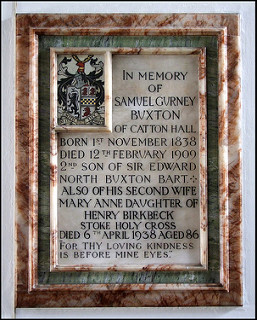 Old Catton St Margarets memorial Simon Knott