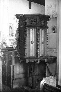 Old Catton St Margarets pulpit G Plunkett