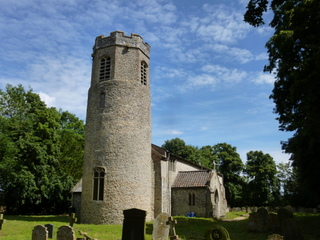 Fritton St C church