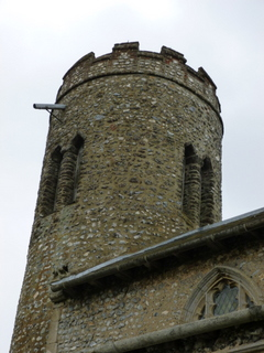 Roughton detail of tower