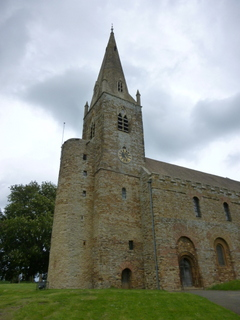 Brixworth tower