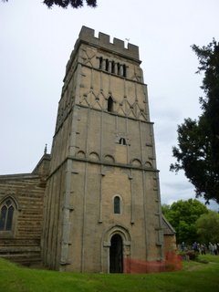 Earls Barton tower