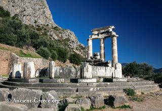 Round temple at Delphi