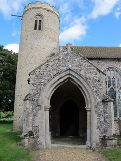 East Walton tower and porch
