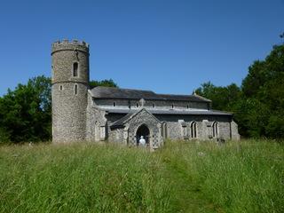Repair grant for Suffolk round tower church