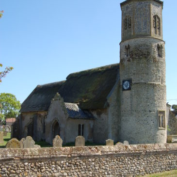 Grants for two round tower churches