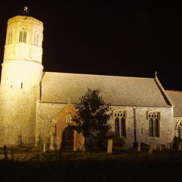 Floodlights raise funds for 'Poppy' church
