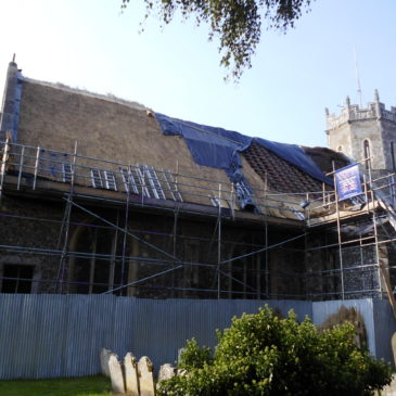 Thatcher set to complete Acle's  roof later this month