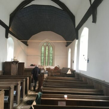 Church gleaming whiter than white for first time in 70 years